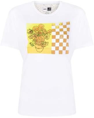 Vans x Van Gogh Museum Sunflowers printed T-shirt