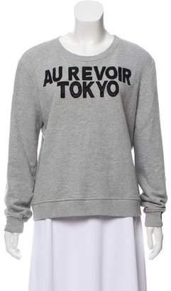 Aiko Patterned Long Sleeve Sweatshirt