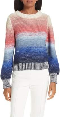 Eleven Paris SIX Lucy Stripe Alpaca Blend Sweater