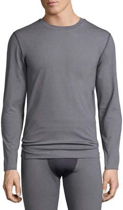 1f7aa83d9ac Fruit of the Loom Premium Heavyweight Tech Fleece Crew Long Sleeve Thermal  Shirt