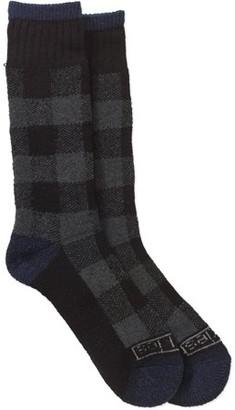 Buffalo David Bitton Genuine Dickies Men's Thermal Steel Toe Plaid Crew Sock, 2-Pack
