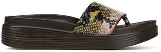 Donald J Pliner FIFI19, Stripe Snake Platform Sandal