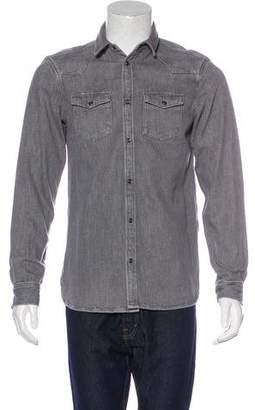AllSaints Glazer Denim Shirt w/ Tags