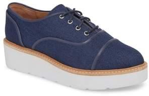 Linea Paolo Mavis Cap Toe Platform Sneaker