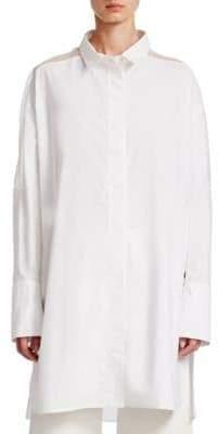 Gentry Portofino Long Cotton Tunic