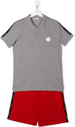 Moncler top and shorts set