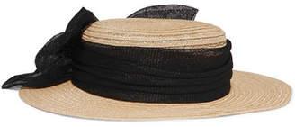 Eugenia Kim Brigitte Hemp-blend Hat - Sand
