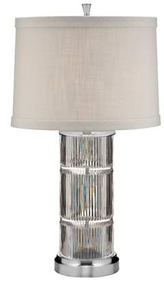 Waterford Linear Crystal Table Lamp