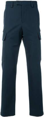 MSGM side stripe cargo trousers