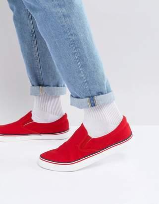 Brave Soul Retro Slip On Sneakers