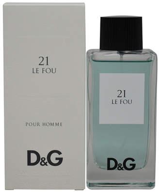 Dolce & Gabbana Le Fou 21 3.3Oz Men's Eau De Toilette Spray