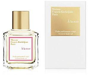 Francis Kurkdjian à la rose Scented body oil