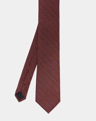 Ted Baker REUX Geo print silk tie
