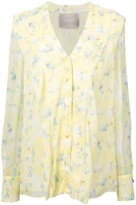 Jason Wu Collection floral blouse