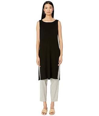 Eileen Fisher Ballet Neck Long Tunic