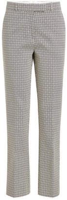 Etro Jacquard Cropped Pants