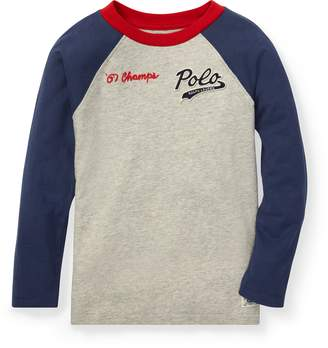 Ralph Lauren Cotton Jersey Baseball T-Shirt