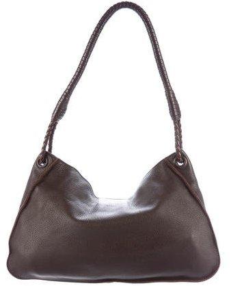 Bottega VenetaBottega Veneta Pebbled Leather Hobo
