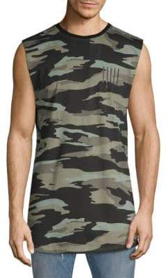 Camouflage Cotton Muscle Tee