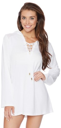 Athena Alisa Hooded Tunic $124 thestylecure.com