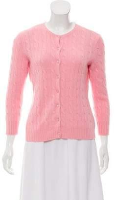Ralph Lauren Cashmere Cable Knit Cardigan