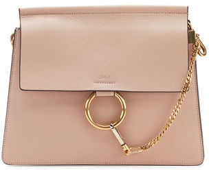 Chloe Faye Medium Leather Shoulder Bag $2,050 thestylecure.com