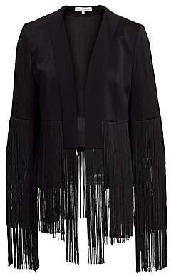 Galvan Women's Cortado Fringe Jacket