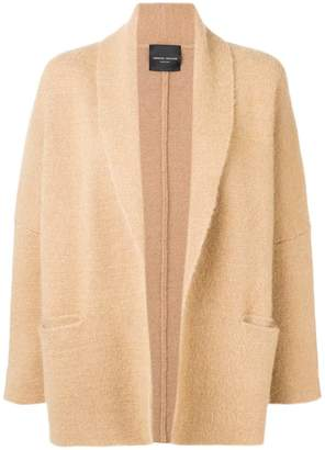 Roberto Collina draped fitted coat