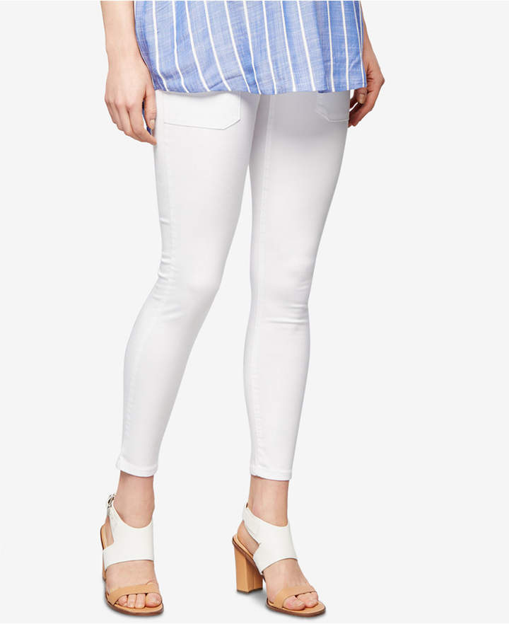 A Pea In The Pod A Pea in the Pod Maternity Cropped Skinny Pants