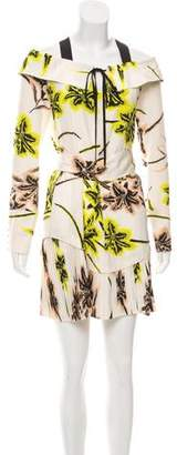 Derek Lam Silk Off-The-Shoulder Dress w/ Tags