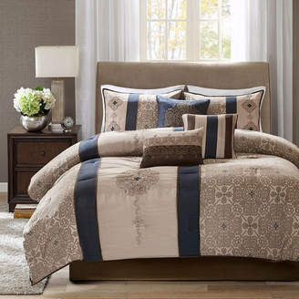 JCPenney Madison Park Blaine 7-pc. Jacquard Comforter Set