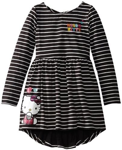 Hello Kitty Girls 2-6X High/Low Dress
