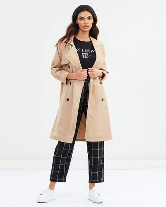 Cotton On Hannah Soft Mid Trench