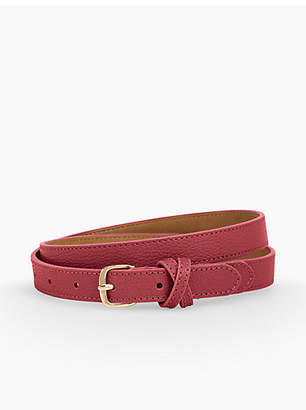 Talbots Leather Belt - Pebble Leather