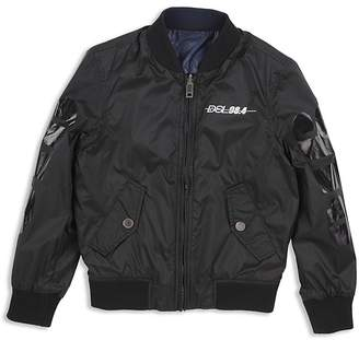 Diesel Boys' Reversible Jace Bomber Jacket - Big Kid