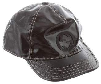 Pre-Owned at TheRealReal · Gucci Patent Leather Baseball Cap 4ca4ce42441