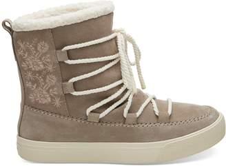Desert Taupe Suede Women's Alpine Boots