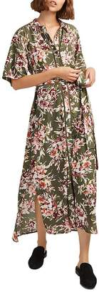 French Connection Floriana Floral-Print Maxi Dress