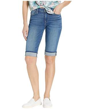 Hudson Jeans Amelia Cuffed Knee Shorts in Vision