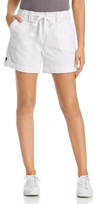 Jag Jeans Adeline Cuffed Tie-Waist Shorts
