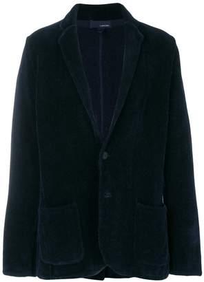Lardini woven blazer cardigan