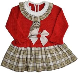 Foque Owl Knitted Dress