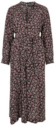 Isabel Marant Lympia Floral-print Silk Midi Dress