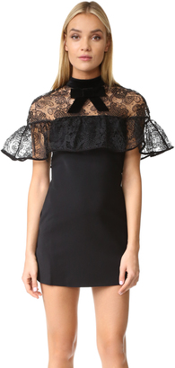 Self Portrait Line Lace Mini Dress $460 thestylecure.com