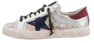 Golden Goose May Distressed Sneakers