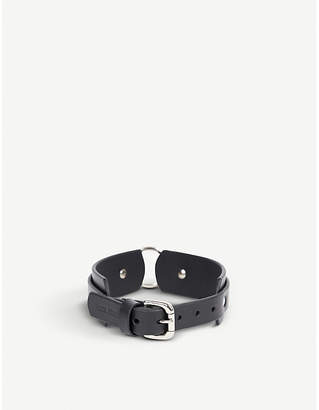 Fleet Ilya Chunky O-ring leather choker
