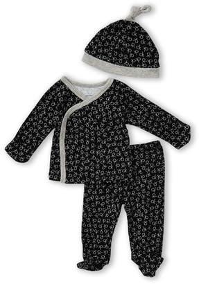 Calvin Klein Newborn Boys) 3-Piece Logo Footie & Leggings Set
