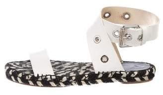 Proenza Schouler Leather Espadrille Sandals