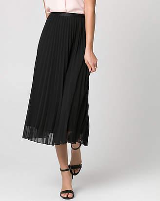 Le Château Chiffon Pleated Skirt