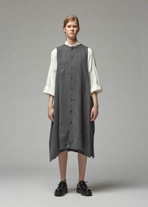 Yohji Yamamoto Y's By Asymmetrical Button Dress